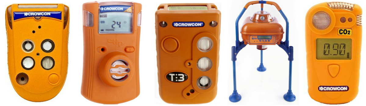 Crowcon-Portable-Gas-Detectors